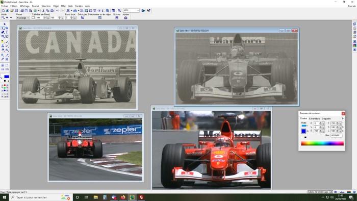 Conversion de la Ferrari F2002 du GP du Canada 2002 de chez Hot-Wheels Elite A339