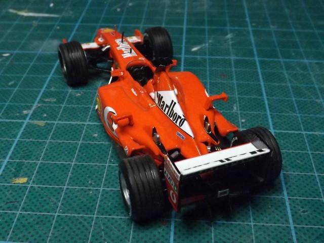 Conversion de la Ferrari F2002 du GP du Canada 2002 de chez Hot-Wheels Elite A356